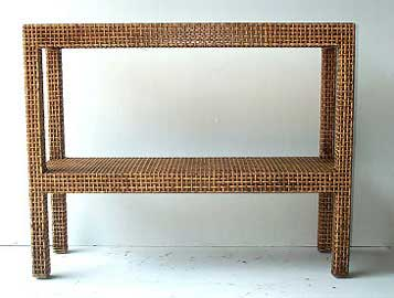 Lotus-Console-Table